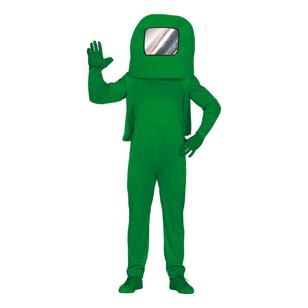 Grön Astronaut Teen Maskeraddräkt - 14-16 år