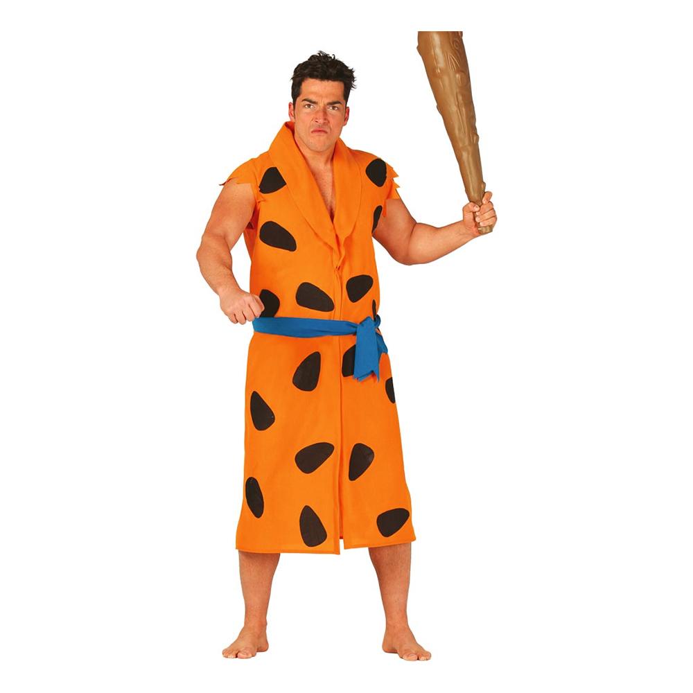 Grottman Orange Maskeraddräkt - One size
