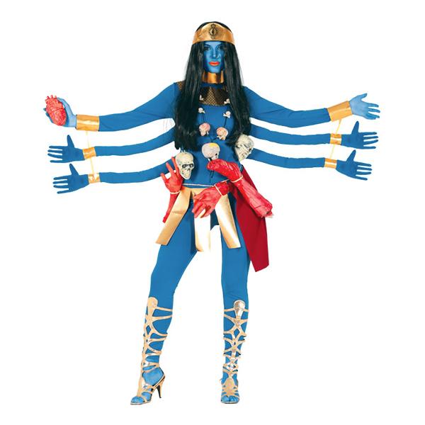 Gudinna med Flera Armar Maskeraddräkt - One size