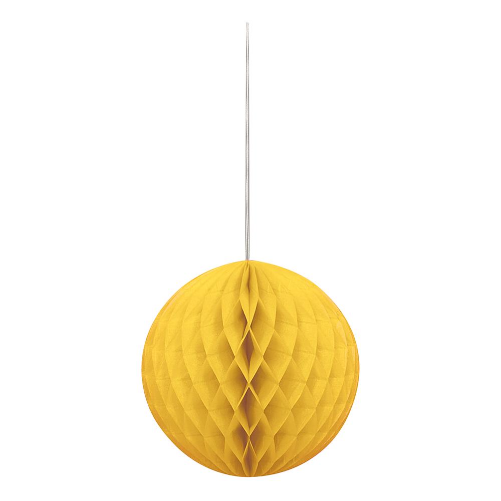 Gul Honeycomb | Hem//Teman//Färger//Gul | Partyoutlet