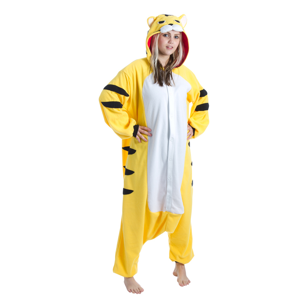 Gul Tiger Kigurumi - Medium