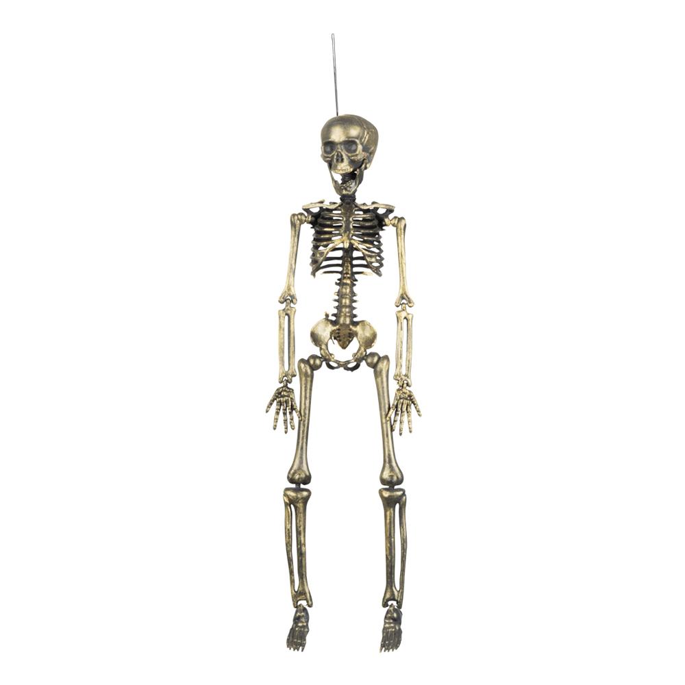 Guldfärgat Skelett
