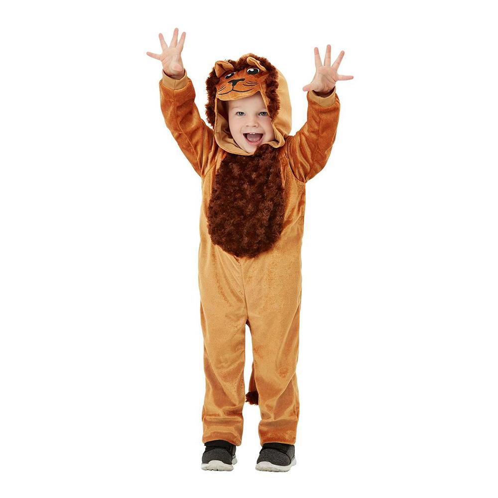 Gulligt Lejon Barn Maskeraddräkt - 1-2 år