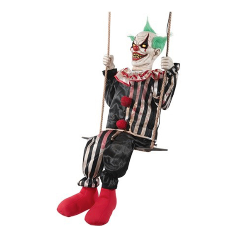 Gungande Clown Animerad Prop