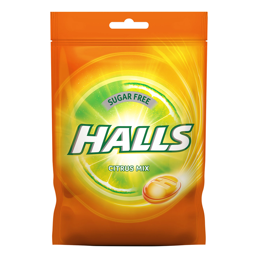 Halls Citrus Mix Halstabletter