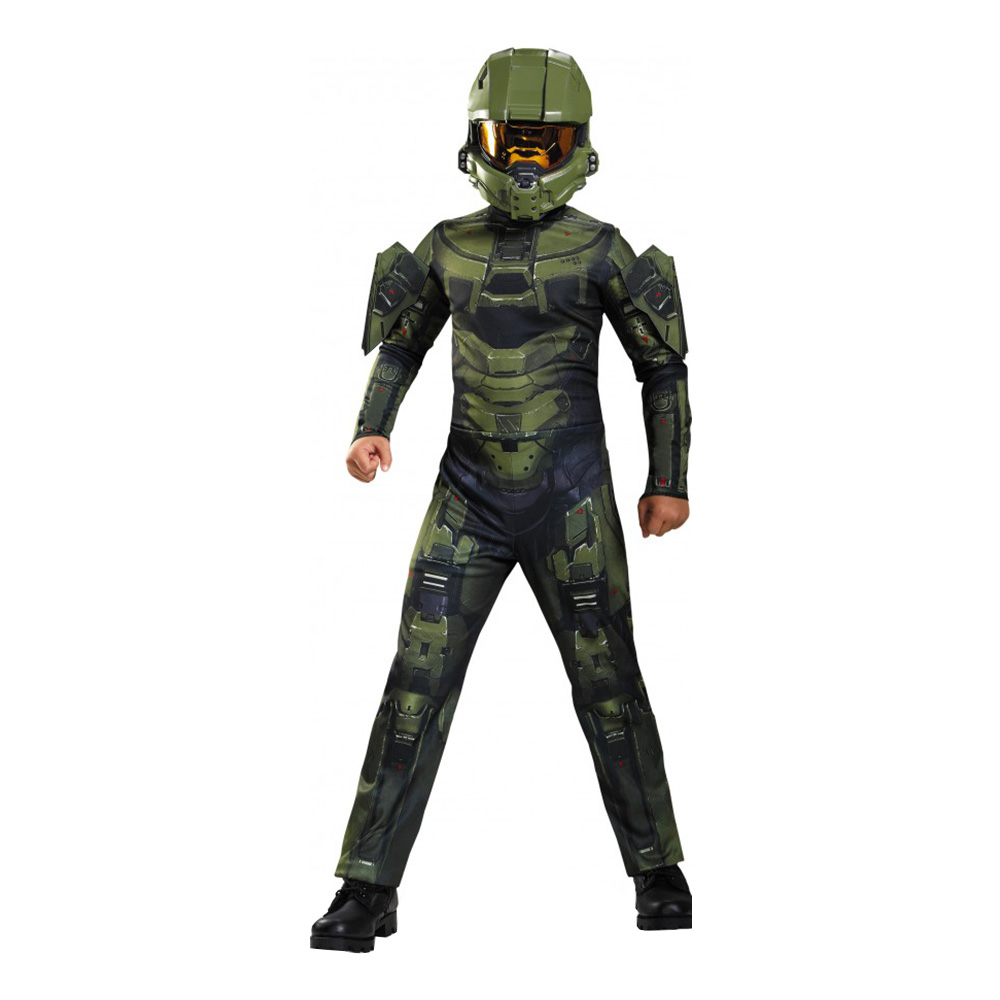 Halo Master Chief Barn Maskeraddräkt - Small