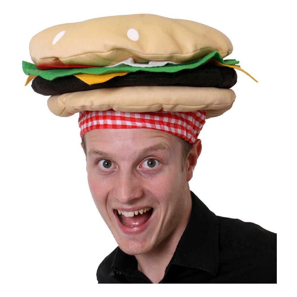 Hamburgare Hatt - One size