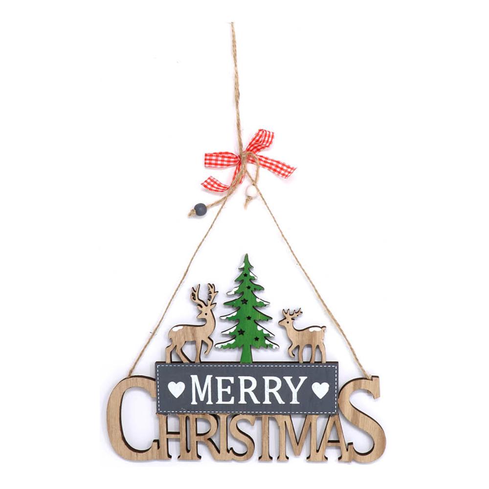 Hängande Dekoration Merry Christmas