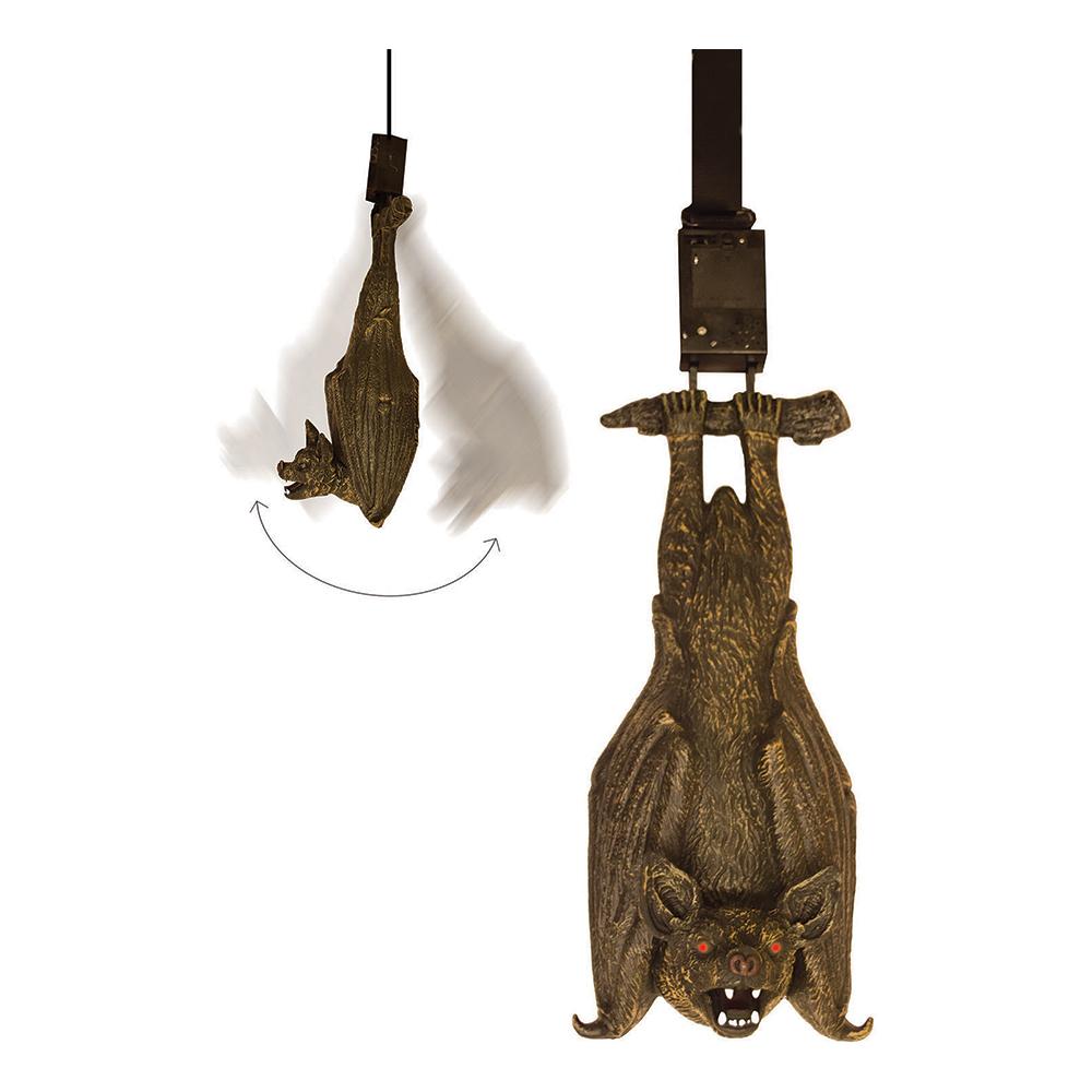 Hängande Fladdermus med Ljud, Ljus & Rörelse