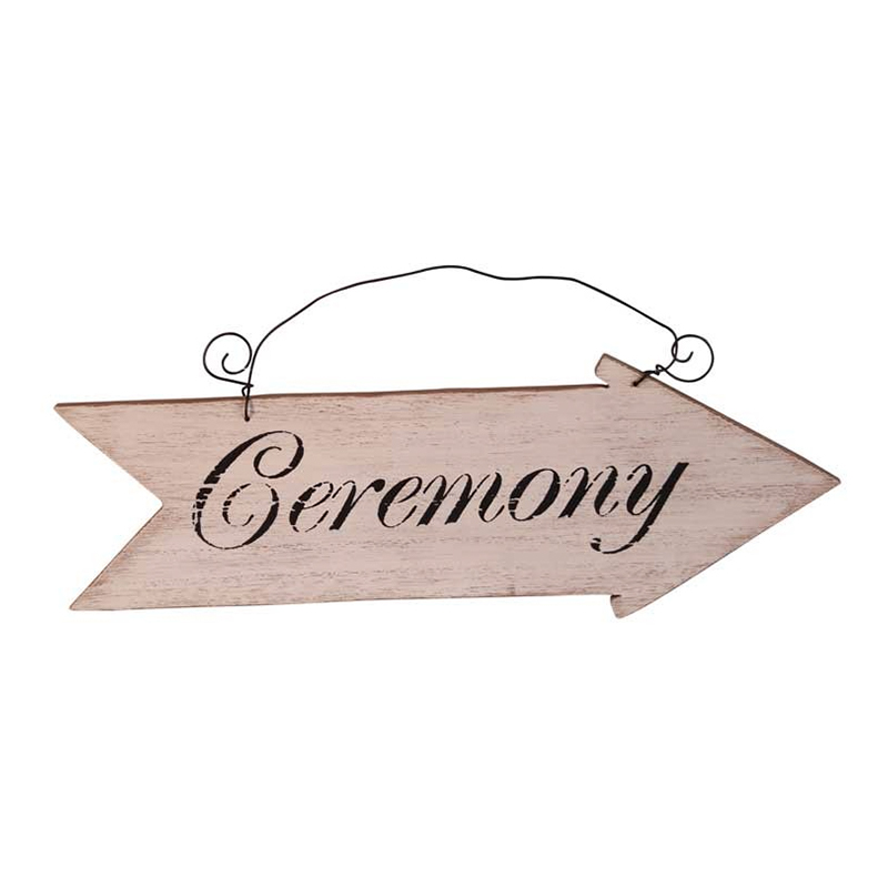 Hängande Skylt med Pil Ceremony - 1-pack