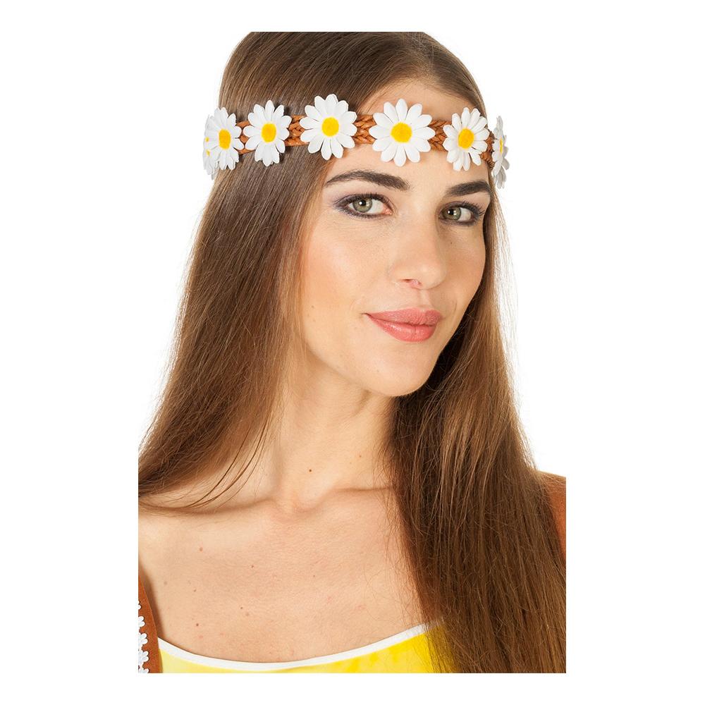 Hårband med Blommor - One size