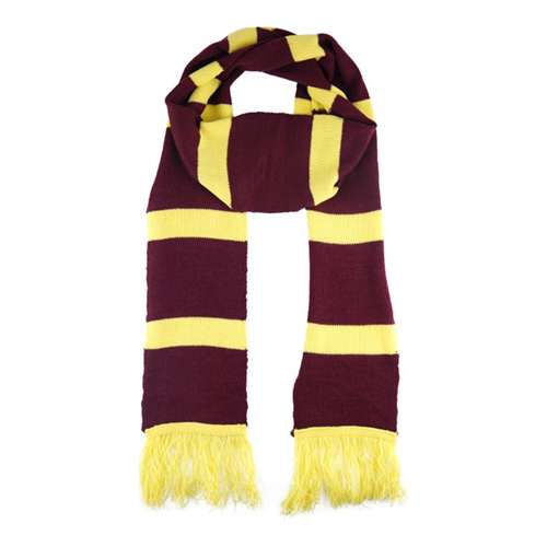 Harry Potter Scarf Röd/Gul
