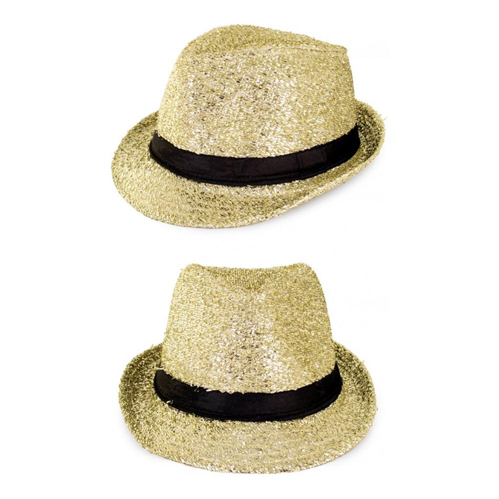 Hatt Glitter/Guld - One size |  | Partyoutlet