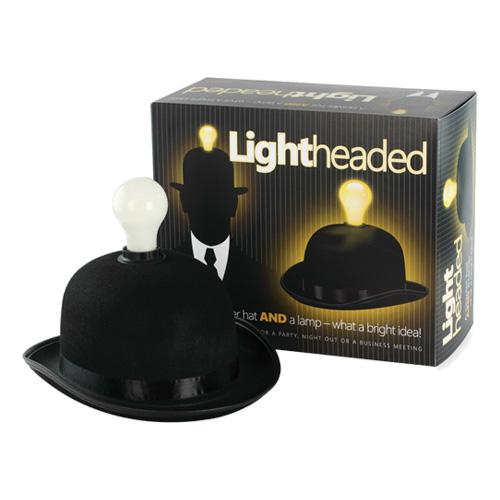 Hatt med Lampa - One size