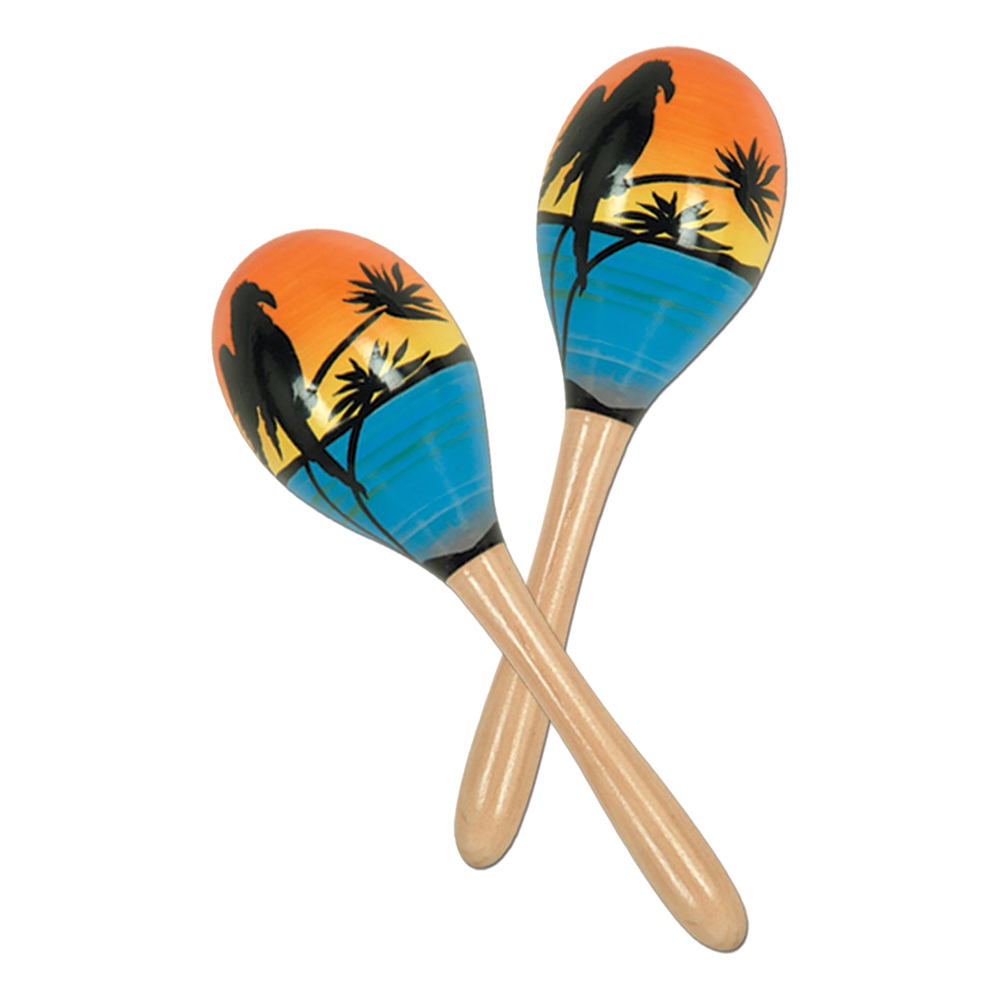 Hawaii Maracas - 2-pack
