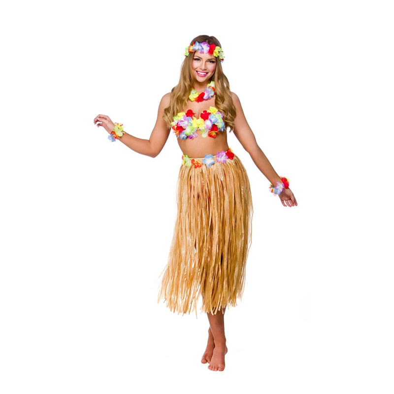 Hawaii Partytjej Maskeraddräkt - One size