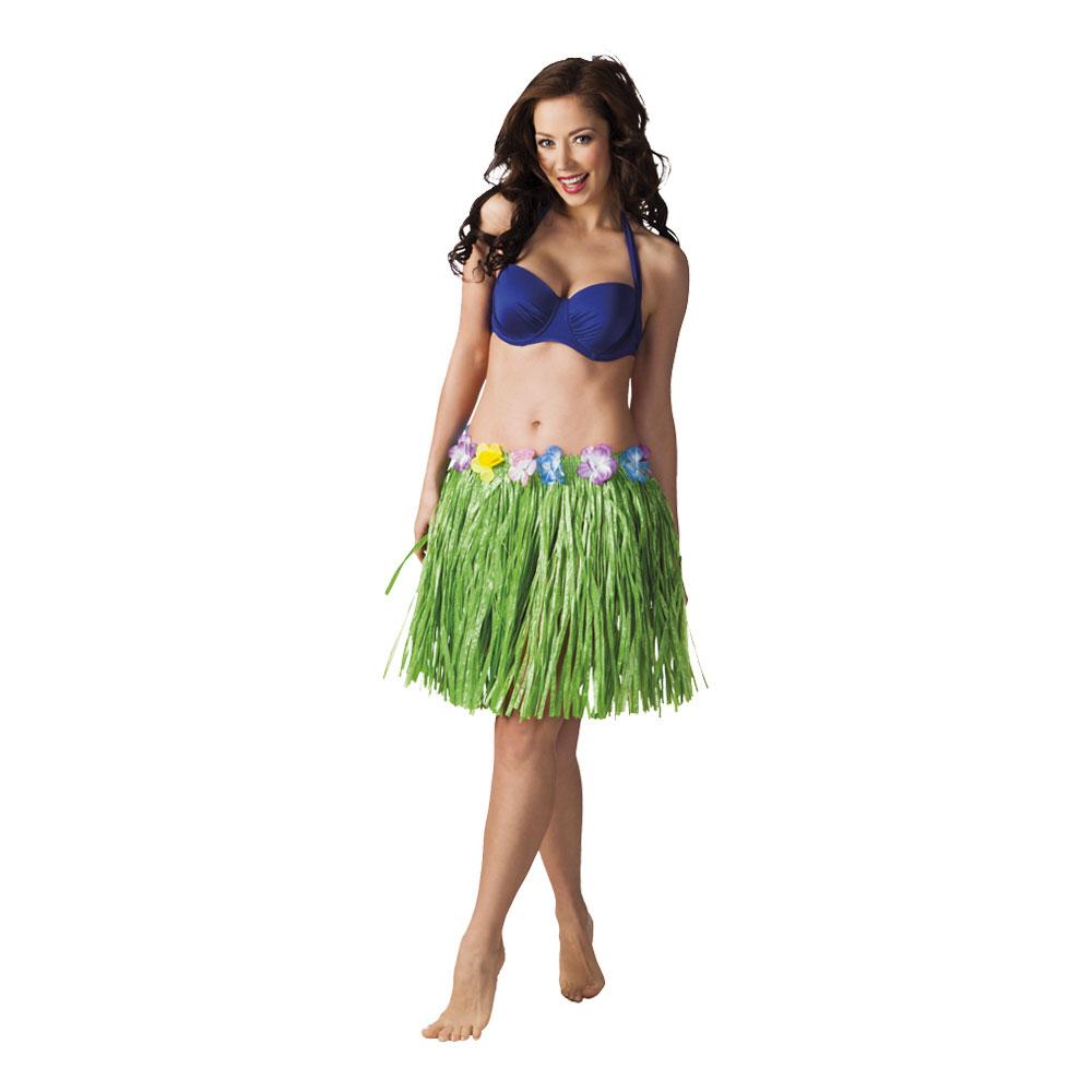 Hawaiikjol Kort Grön - One size