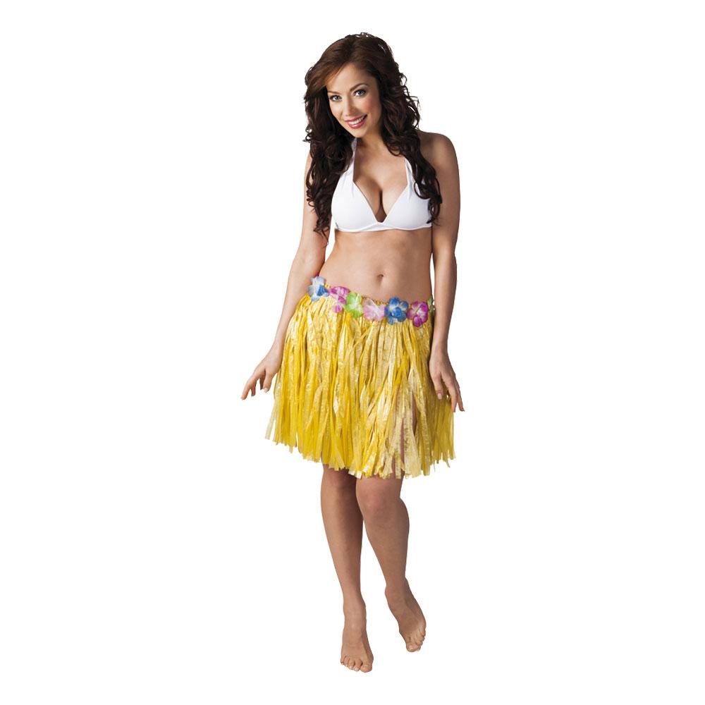 Hawaiikjol Kort Gul - One size