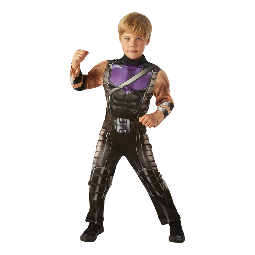 Hawkeye Barn Maskeraddräkt - Small