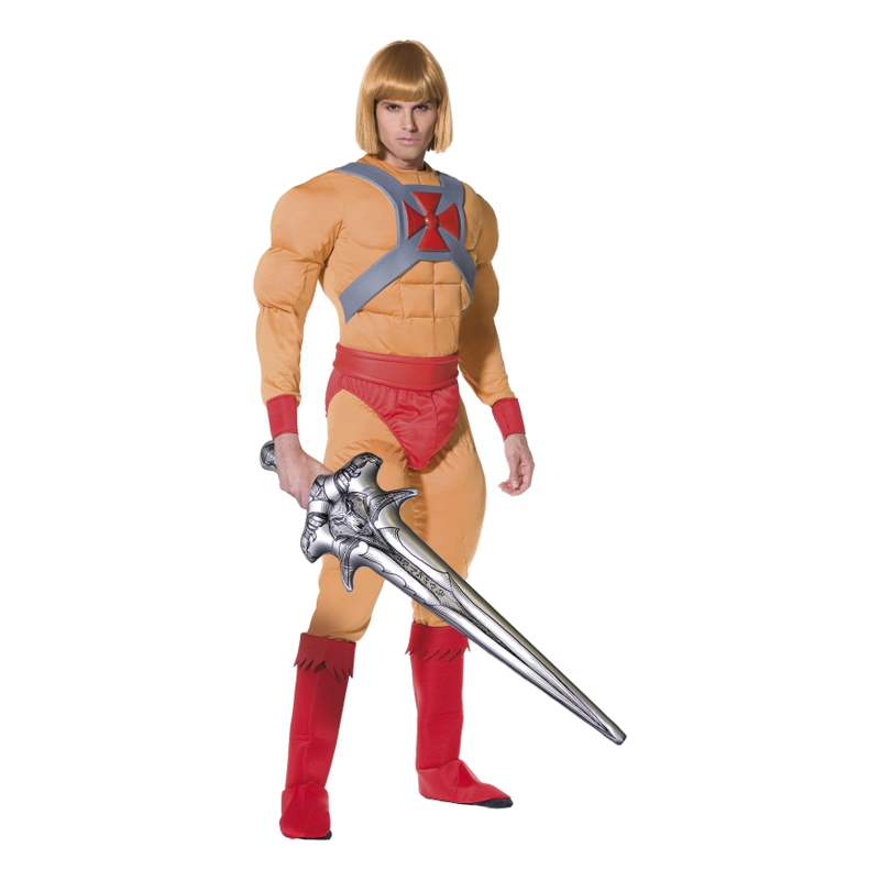He-Man Maskeraddräkt - Medium