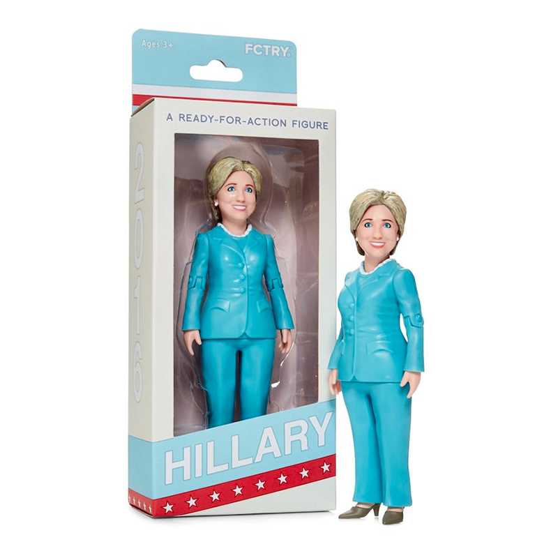 Hillary Clinton Actionfigur