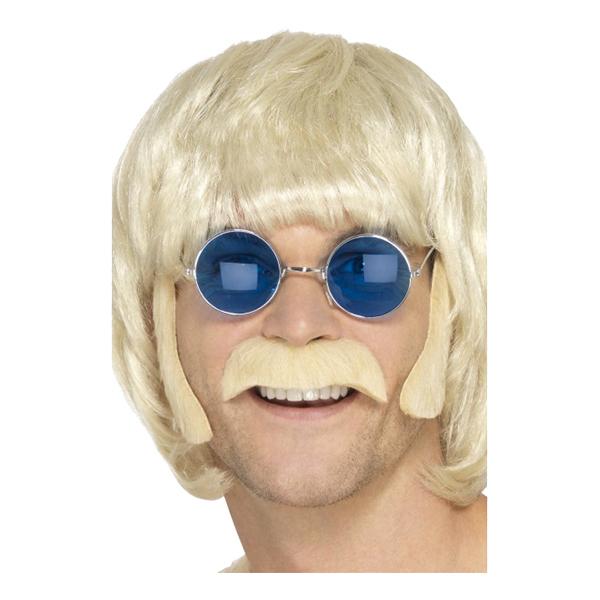 Hippie Polisonger & Mustasch Blond - One size