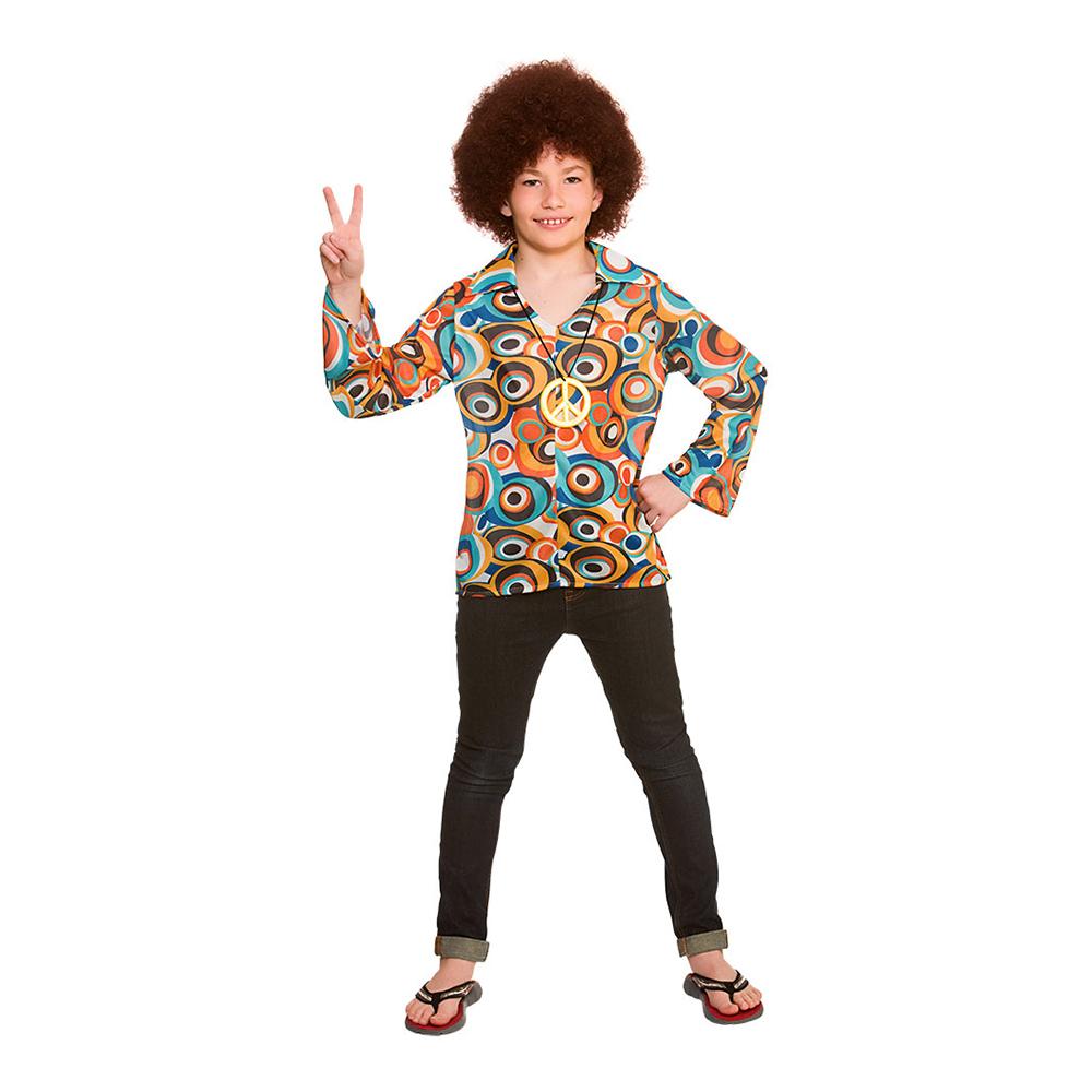 Hippie Skjorta för Barn - Medium