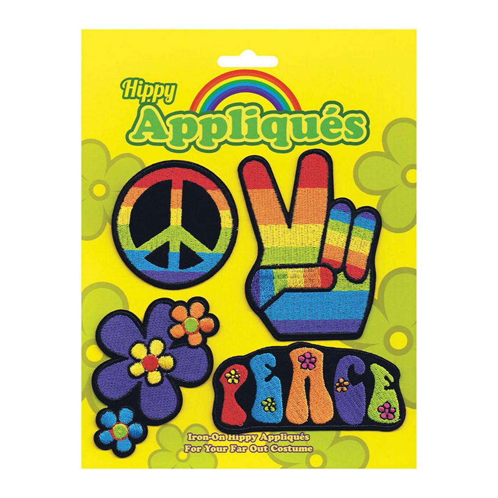 Hippie Tygmärken