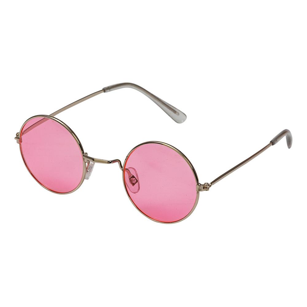 Hippieglasögon Rosa