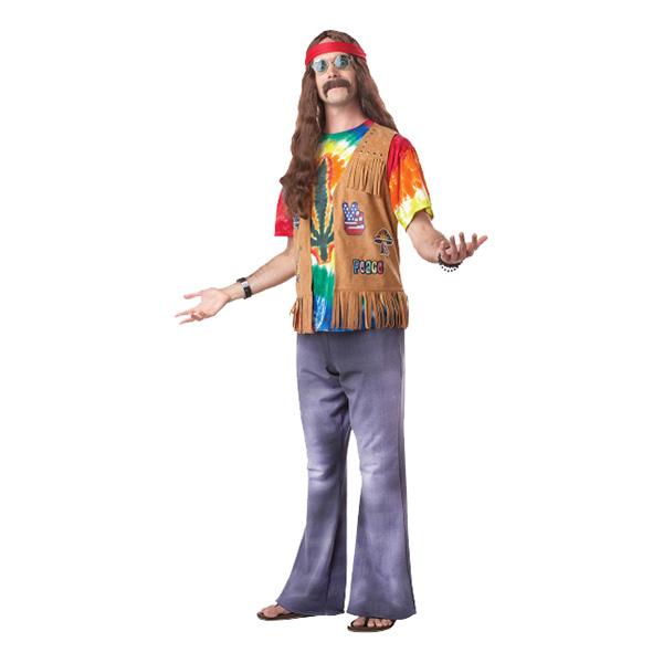 Hippieman Maskeraddräkt - One size