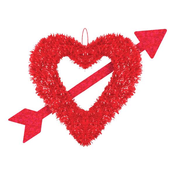Hjärta & Pilbåge Dekoration