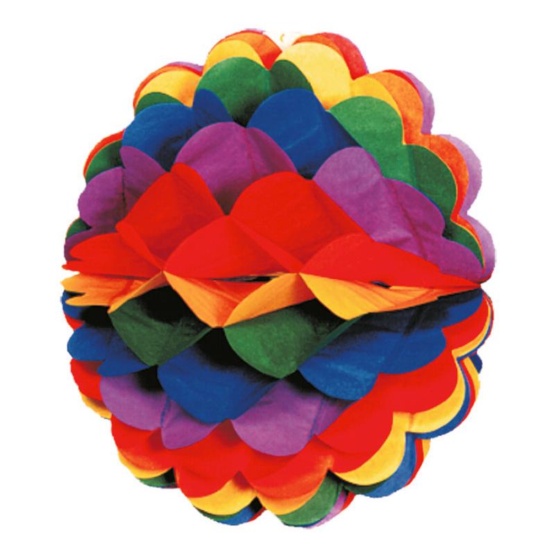 Honeycomb Boll Regnbåge - 1-pack