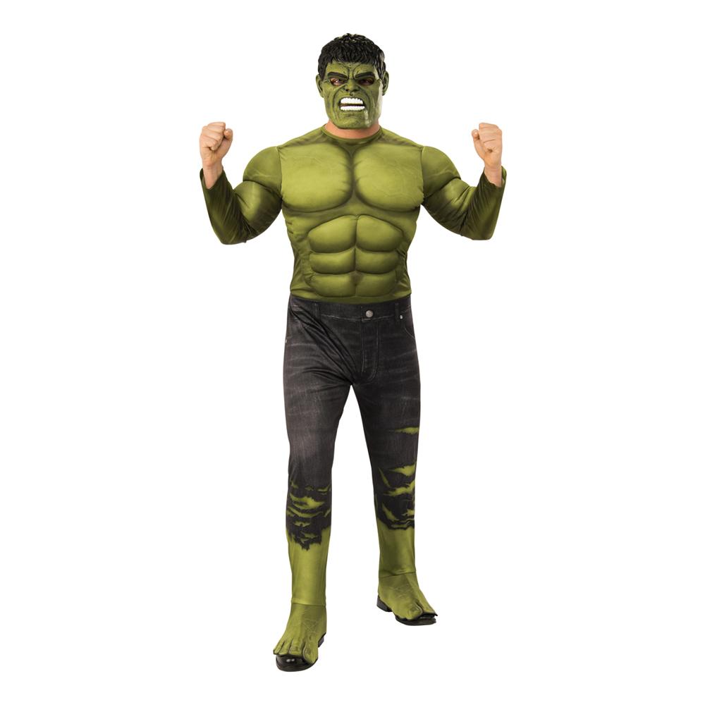 Hulk Deluxe Maskeraddräkt - Standard