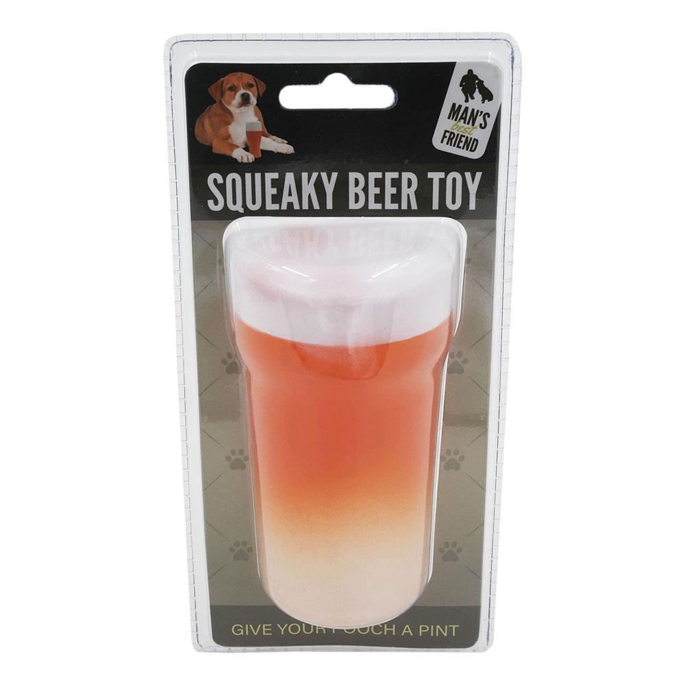 Hundleksak Ölglas