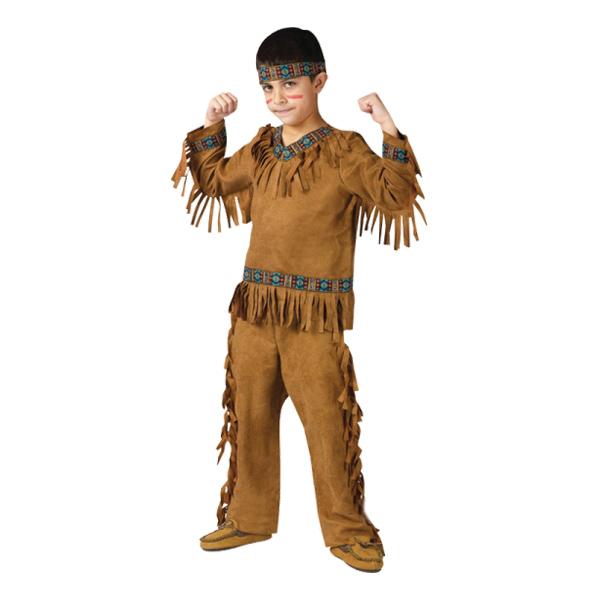 Indianpojke Barn Maskeraddräkt - Small