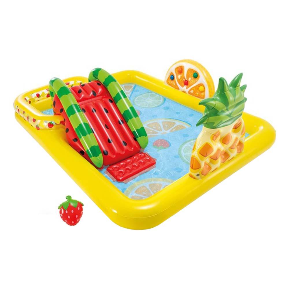 Intex Fun & Fruity Uppblåsbart Lekland för Barn