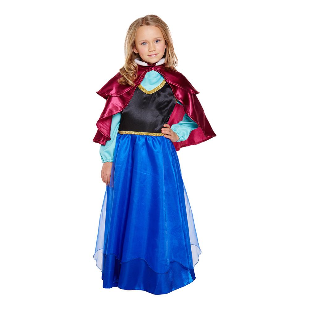 Isprinsessa Barn Budget Maskeraddräkt - Large