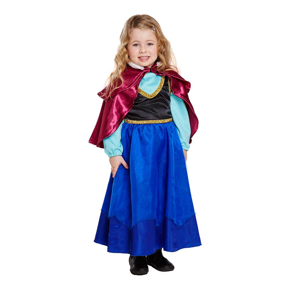 Isprinsessa Barn Maskeraddräkt - One size