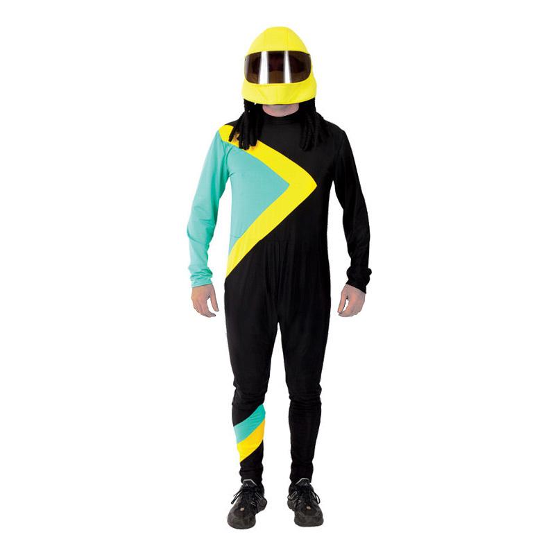 Jamaicansk Bobåkare Maskeraddräkt - Standard