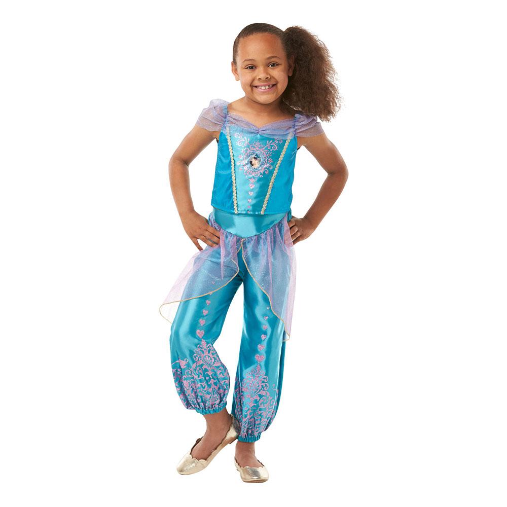 Jasmine Prinsessa Barn Maskeraddräkt - Small