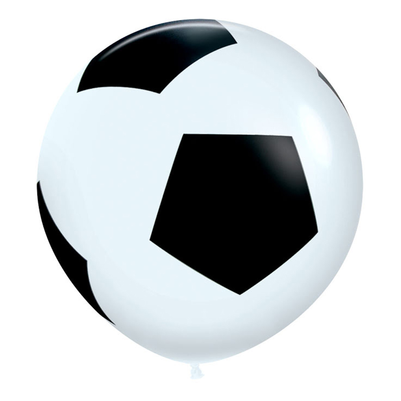 Jätteballong Fotboll