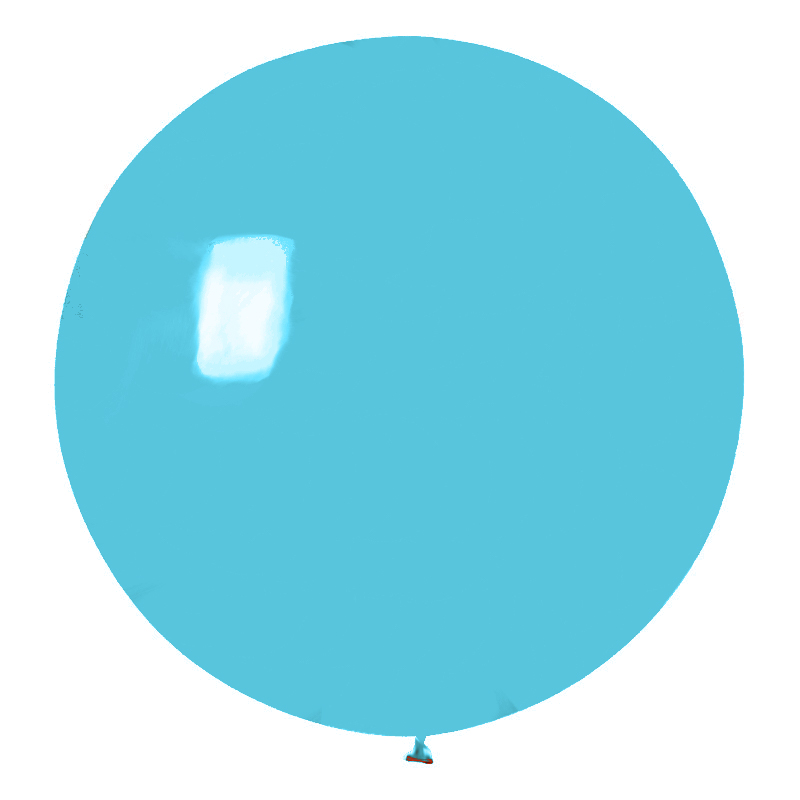 Jätteballonger - Jätteballong Pastellblå