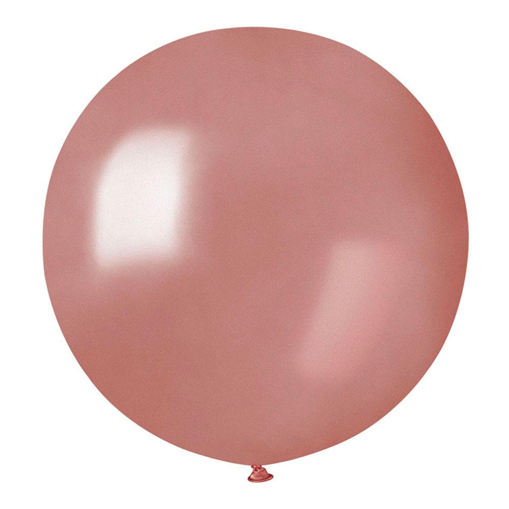 Jätteballong Roséguld - 1-pack