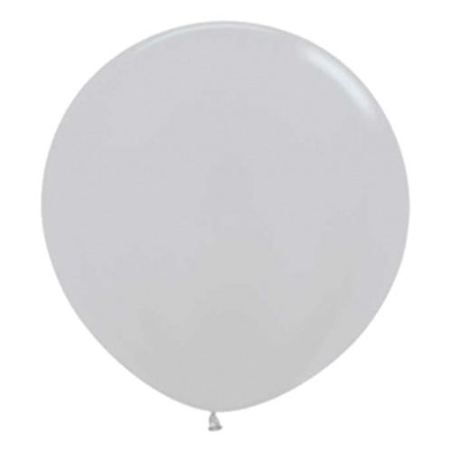 Jätteballong Silver