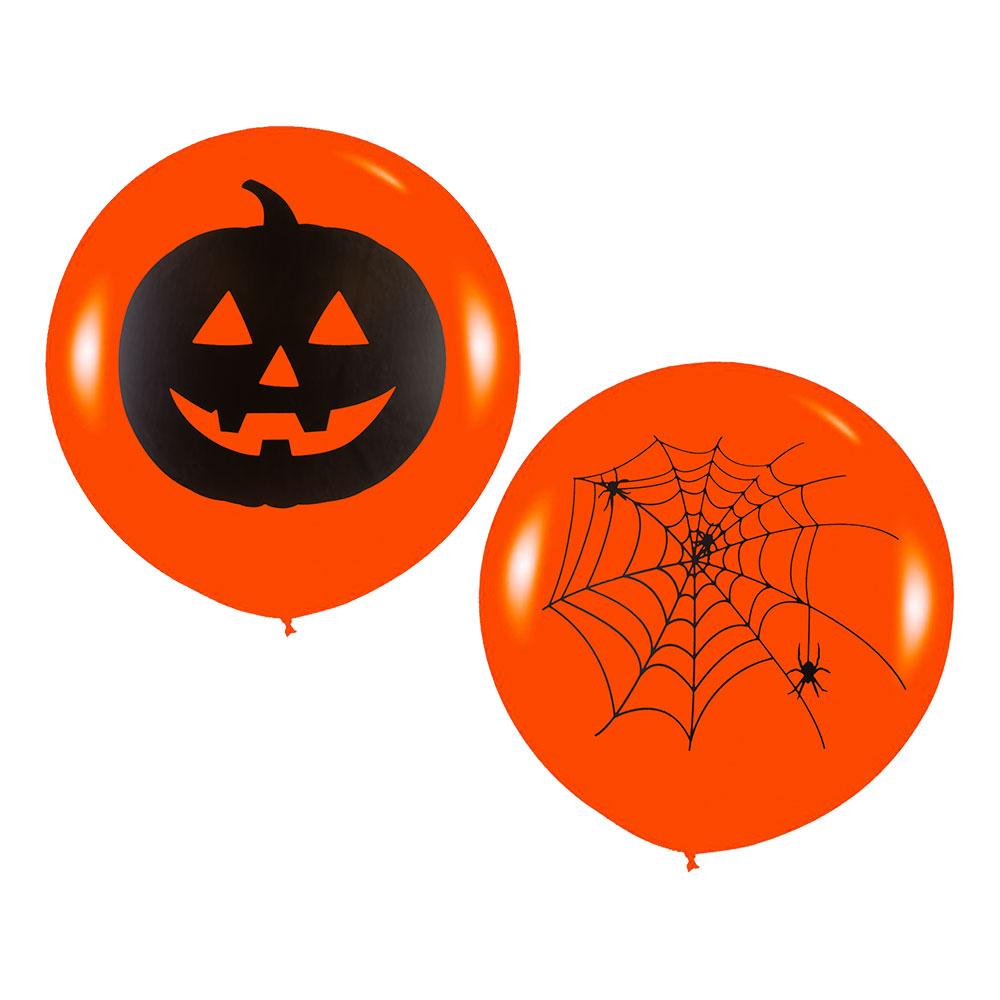 Jätteballonger Halloween - 2-pack