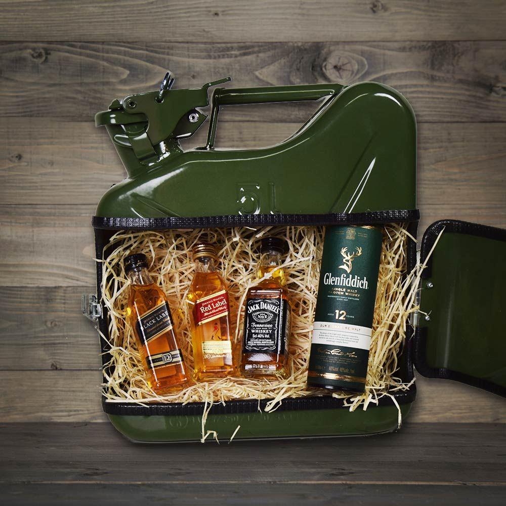 Jerrycan Whiskybar - Grön