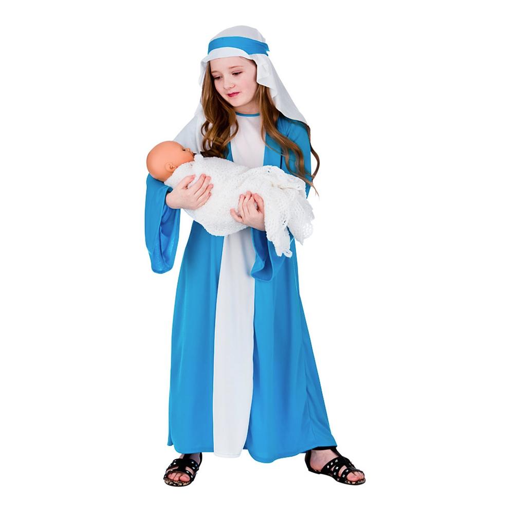 Jesu Födelse Jungfru Maria Barn Maskeraddräkt - Small