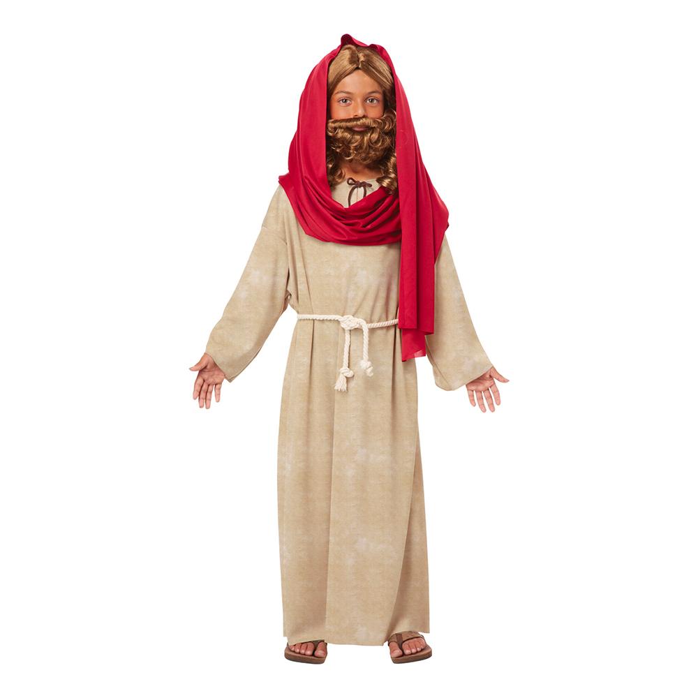 Jesus med Scarf Barn Maskeraddräkt - Medium