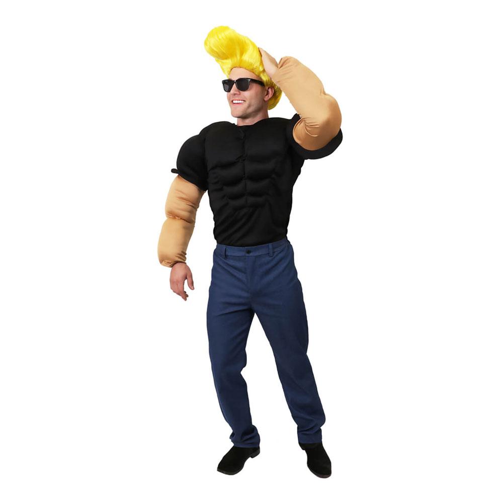 Johnny Bravo Maskeraddräkt - Standard