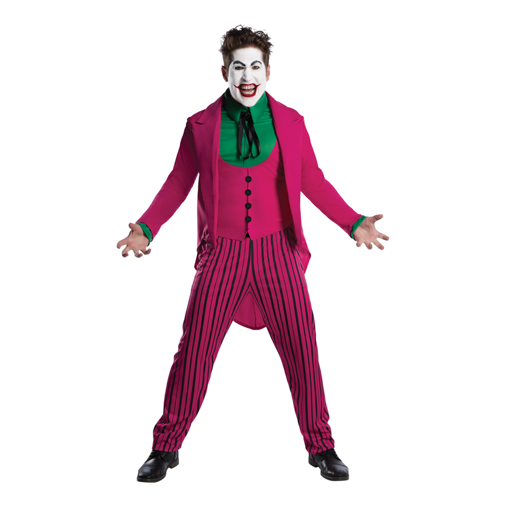 Jokern Retro Maskeraddräkt - Standard